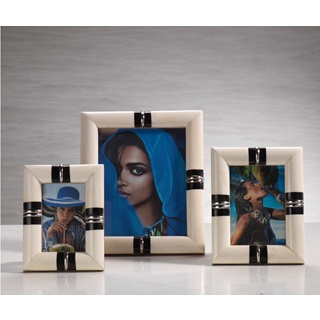 Bone and Horn Photo Frames