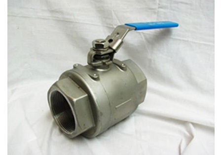 "3"" FPT Full Port Locking Handle Ball Valve - 316 Stainless Steel"