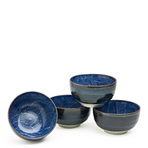 "Aranami 5"" Bowl Set For Four"