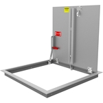 Existing Opening Floor Door, Aluminum, 300psf