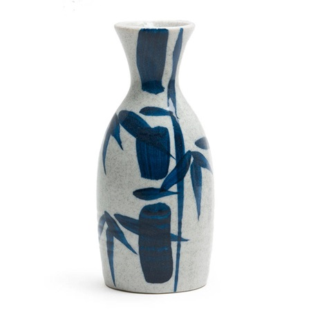 BLUE BAMBOO 10 OZ. SAKE BOTTLE