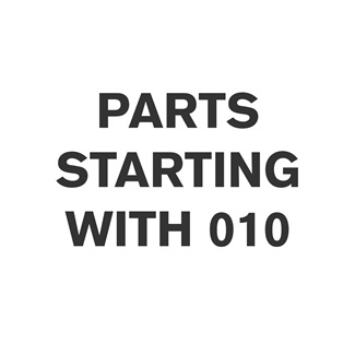 Parts Starting With 010