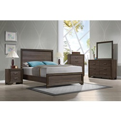 25840Q CYRILLE QUEEN BED