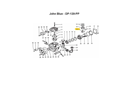 CDS John Blue Connecting Rod Assembly for DP-139-PP Pump
