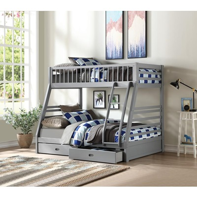 37840 Jason Twin Over Twin Storage Bunk Bed