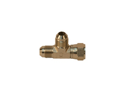 Hydraulic Brass Hose Adapter, Tee Fitting Shape