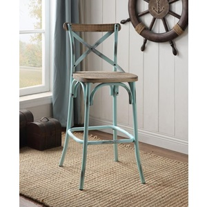 96807 TURQUOISE BAR CHAIR