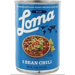 Loma Linda Blue 5 Bean Chili - 15oz