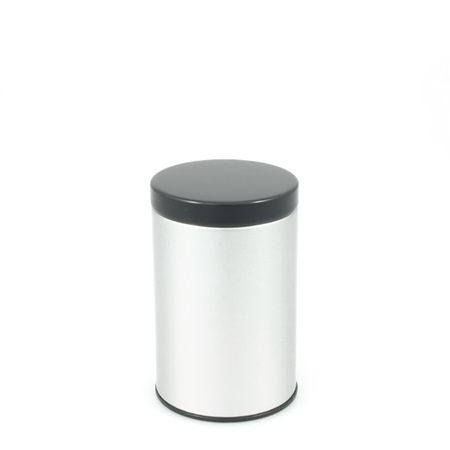 Tea Canister Black Lid 100g