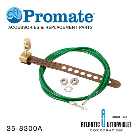 Promate Grounding Kit: Stud Type Strap with Wire, Washers