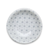 "Asanoha Colors 4.75"" Dish - Gray"
