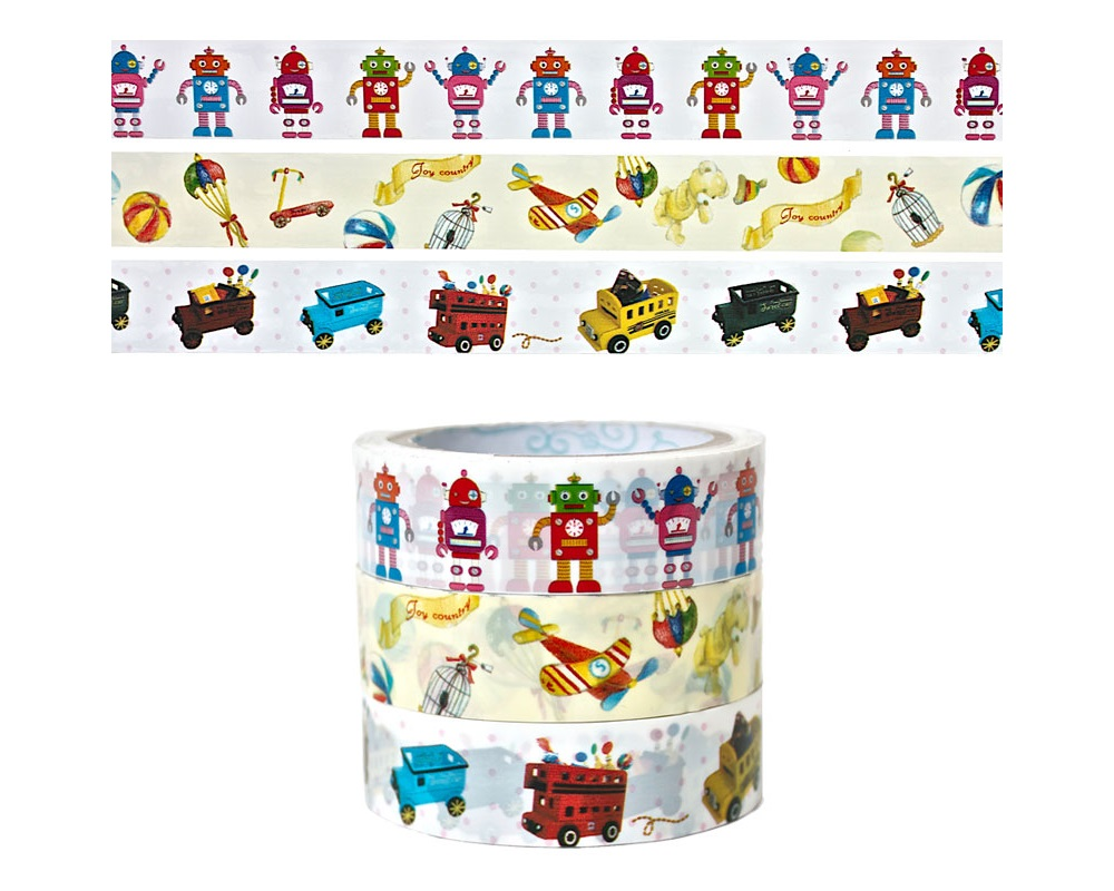 Robots & Toys Craft Tape
