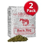 11 Lb Bag 2 Pack Case Barn Bag Pleasure and Performance Horse Feed Con