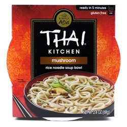 Rice Noodle Bowl, Mushroom - 2.4oz (Box of 6)