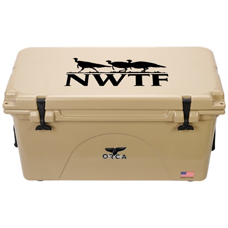 NRA Tan 75qt ORCA Cooler