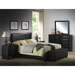 14440F KIT - BLACK PU FULL BED