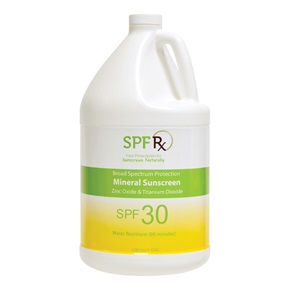 SPF RX Mineral Sunscreen Broad Spectrum SPF 30, Bulk