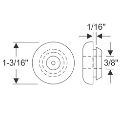 Multi-Purpose Grommet 1-3/16""