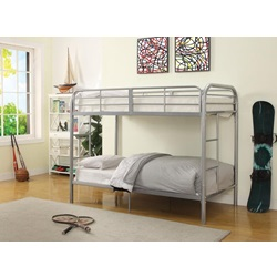 02178SI SILVER T/T BUNKBED