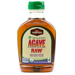 Agave Nectar, Raw - Organic (24.7oz Bottle)
