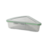 "Mygo™ Pizza-Sized Compartment Container, 9-1/4"" X 8-1/4"" X 2-1/2"""