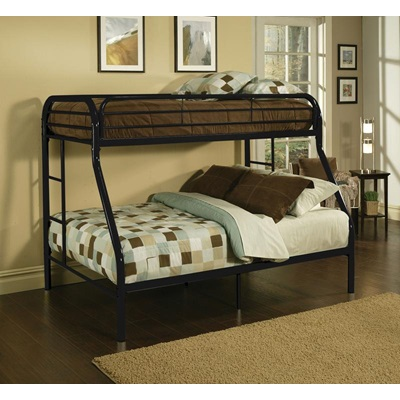 02053BK TRITAN BLACK T/F BUNK BED