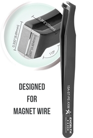 Magnet Wire Stripping Tweezers