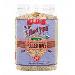 Oats, Quick Rolled, Gluten Free (Organic)
