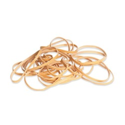 "1/8 X 3.5"" RUBBER BANDS, #33, 5 LB BULK,"