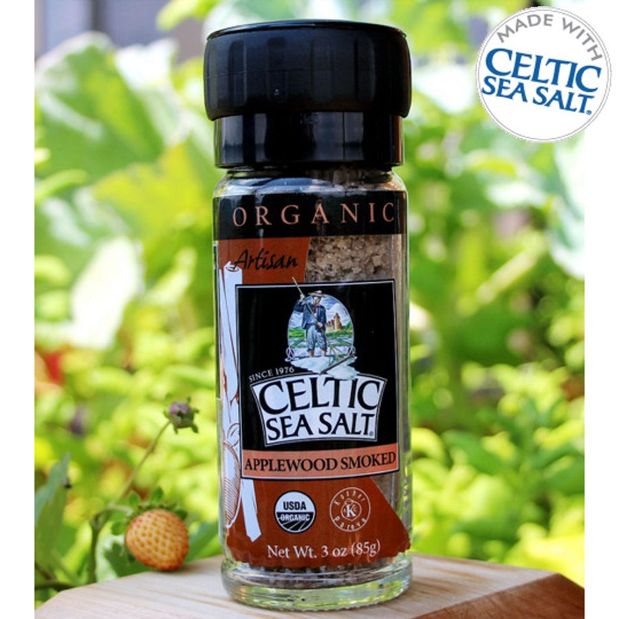 Organic Smoked Applewood Seasoned Celtic Sea Salt® Blend