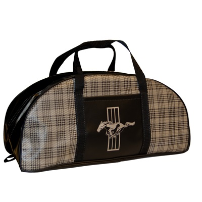 1964-73 Mustang Tote Bag (Plaid, Large)