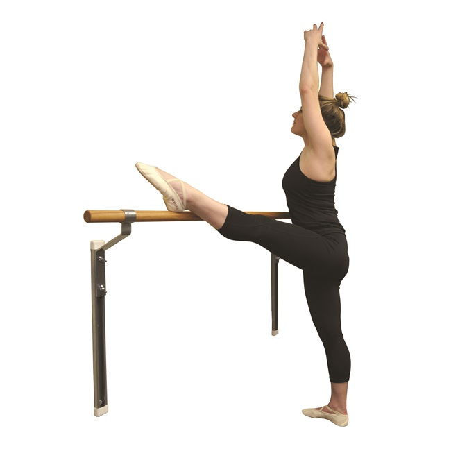 Gibson Wall-Mounted Adjustable Single Ballet Barre