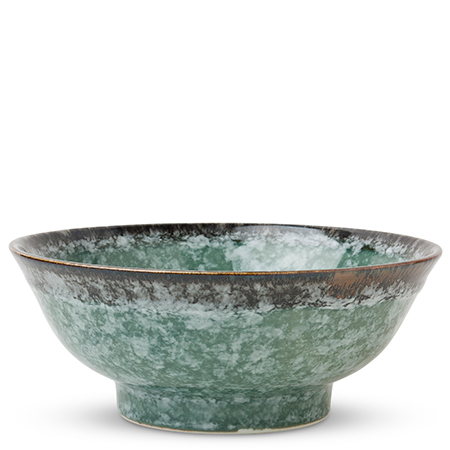 "MASHIKO GREEN 8.25"" BOWL"