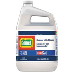 02291 COMET 1 GALLON LIQUID CLEANER WITH BLEACH 3/CS