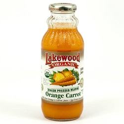 Orange Carrot Juice (Lakewood), Organic - 12.5oz