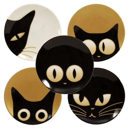 "CAT EYES 3.5"" MINI PLATE SET"