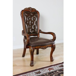12170 OFFICE ARM CHAIR W/PU