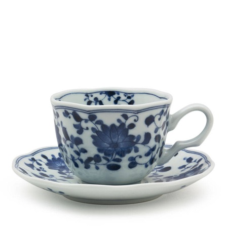 Kiku 7 Oz. Mug With Saucer