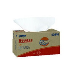 03046 KC WYPALL L40 WHITE WIPERS, 10.8 X 10, 90 SHT/BX, 9 BX/CS