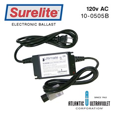 Ballast: 120v 50/60Hz 2-Prong Plug /258140B/Alarm/LED