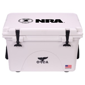 NRA White 40 Quart
