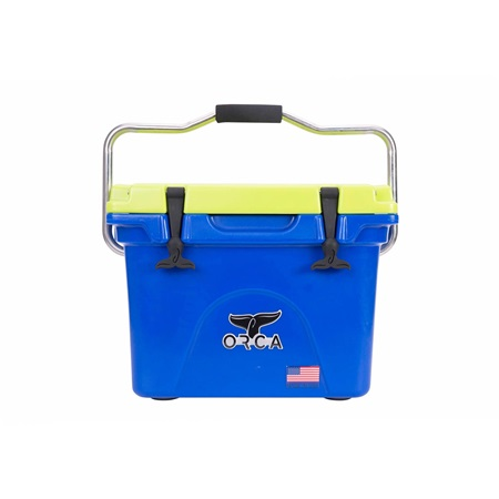 BLUE/CHARTREUSE 20 QUART