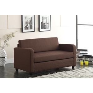 57085 CHOCOLATE ADJUSTABLE SOFA