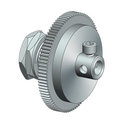 Clutch Gear Assy, Modified, Z Axis