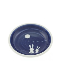 "Sauce Dish 3-3/4"" Rabbit & Moon"