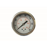 MTM Hydro 3,600 PSI Back Mount Pressure Gauge