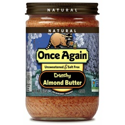 Almond Butter - Crunchy (16oz Jar)