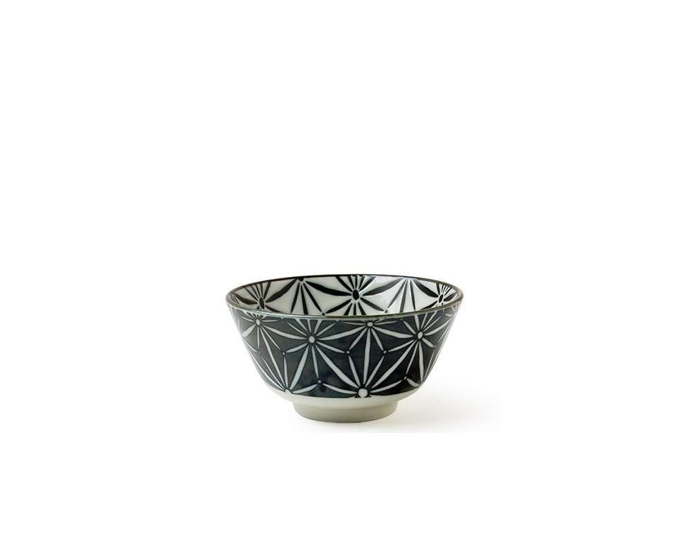 "Komon Asanoha 5"" Rice Bowl"