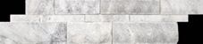 WALL PANELS BIANCO VENETINO SPLIT FACE 6X24