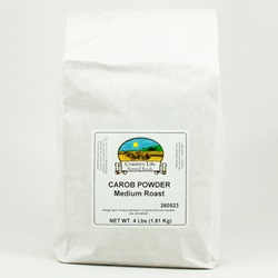 Carob Powder, Medium Roast - 4# Bag